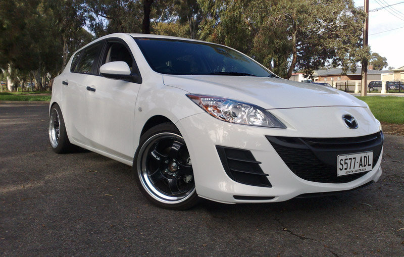 2010 mazda3 with aftermarket rims anyone mazda3 forums. Black Bedroom Furniture Sets. Home Design Ideas