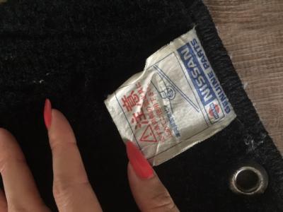 Genuine nissan 180sx floor mats type x for 180sx floor mats
