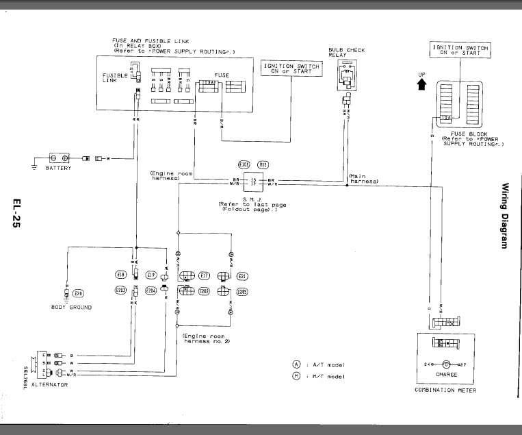 Diagram For Ca18 Starter And Altenator