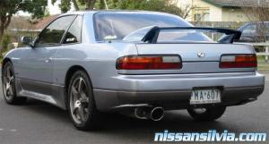 Ever seen a Type X wing on a Silvia before? It's out of